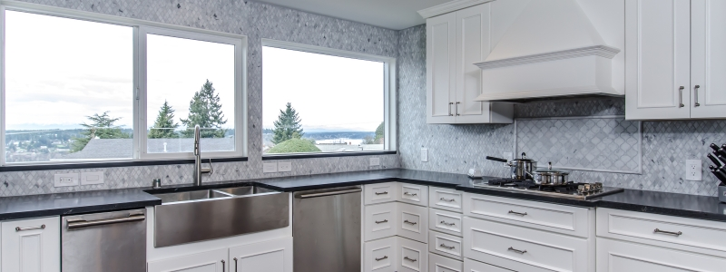 kitchen design tacoma marble island tacoma wa new leaf cabinets 615