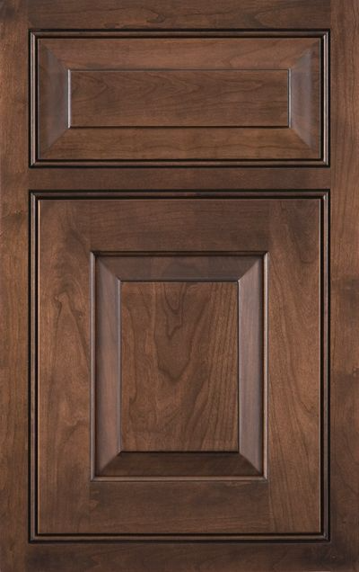 photo of an inset cabinet