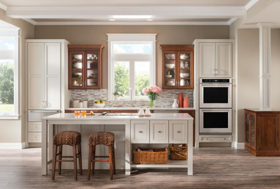 kitchen cabinets, new leaf cabinets & counters