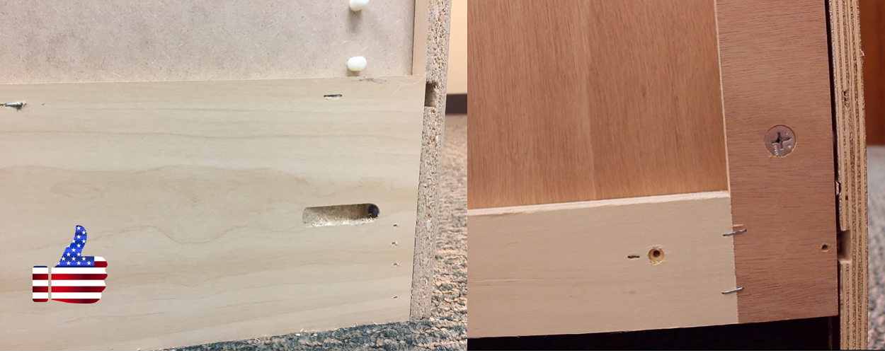 Key Difference #2 Cabinet Construction