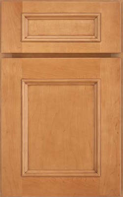 image of cabinet door with a flat panel