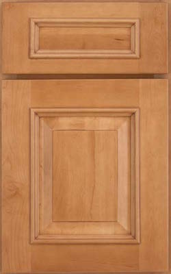 image of cabinet door with a raised panel