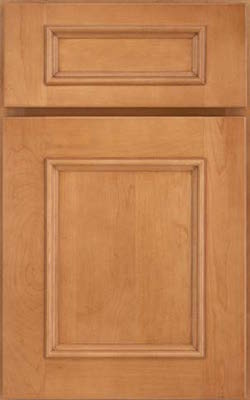 image of cabinet door with a reverse raised panel