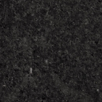 Close up photo of black pearl granite countertops