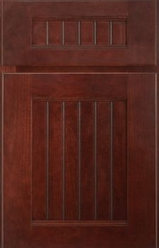 Brockton Beaded panel Available in Cherry, Hickory, Knotty Alder, Maple, Rustin Maple, Oak, and Quartersawn Oak