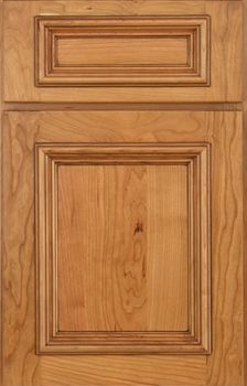 Clark Flat Panel Available in Cherry, Knotty Alder, Maple, and Oak