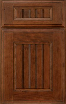 Colby Beaded Panel Available in Cherry, Hickory, Knotty Alder, Maple, and Oak