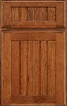 Crowley Beaded Panel Available in Cherry, Hickory, Knotty Alder, Maple, Rustic Maple, and Oak