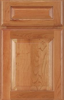 Crowley Raised Panel Available in Cherry, Hickory, Knotty Alder, Maple, Rustic Maple, and Oak