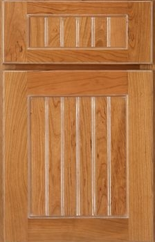 Dearborn Beaded Panel Available in Cherry, Hickory, Knotty Alder, Maple, Rustic Maple, and Oak