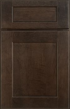 Dearborn Flat Panel Available in Cherry, Hickory, Knotty Alder, Maple, Rustic Maple, and Oak