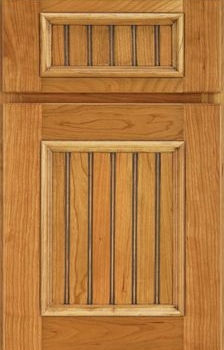 Dixon Beaded Panel Available in Cherry, Hickory, Knotty Alder, Maple, and Oak