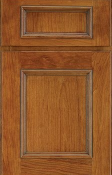 Dixon Reverse Raised Panel Available in Cherry, Hickory, Knotty Alder, Maple, and Oak