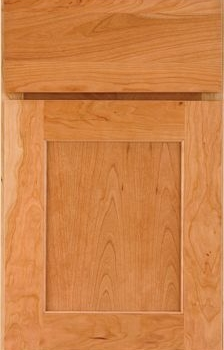 Holton Flat Panel Available in Cherry, Hickory, Knotty Alder, Maple, Rustic Maple, and Oak