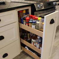 Cabinet storage - New Leaf Cabinets