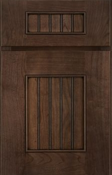 Logan Beaded Panel Available in Cherry, Hickory, Maple, and Oak