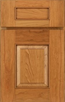 Logan Raised Panel Available in Cherry, Hickory, Maple, and Oak