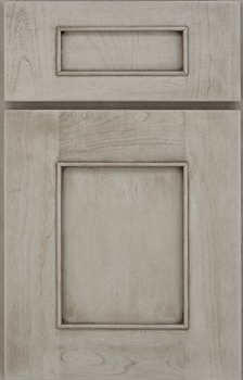 Logan Reverse Raised Panel Available in Cherry, Hickory, Maple, and Oak