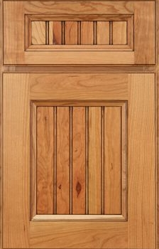 Mallory Beaded Panel Available in Cherry, Hickory, Knotty Alder, Maple, Rustic Maple, and Oak