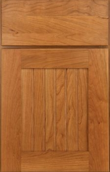 Millgate Beaded Panel Available in Cherry, Hickory, Knotty Alder, Maple, Rustic Maple, Oak, and Quartersawn Oak