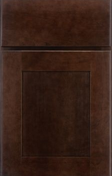 Millgate Flat Panel Available in Cherry, Hickory, Knotty Alder, Maple, Rustic Maple, Oak, and Quartersawn Oak
