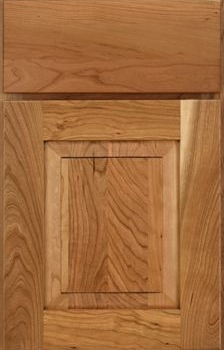 Millgate Raised Panel Available in Cherry, Hickory, Knotty Alder, Maple, Rustic Maple, Oak, and Quartersawn Oak