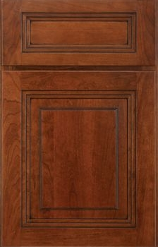Morris Raised Panel Available in Cherry, Hickory, Knotty Alder, Maple, Rustic Maple, Oak, and Quartersawn Oak