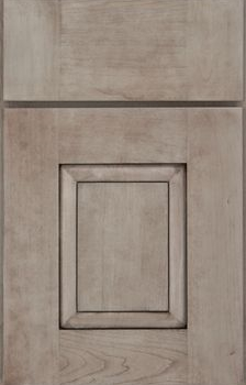 Rigby Raised Panel Available in Cherry, Hickory, Knotty Alder, Maple, Rustic Maple, and Oak