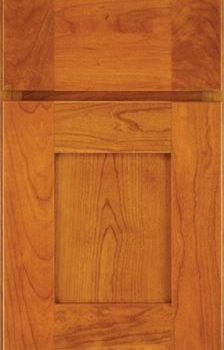 Rigby Reverse Raised Panel Available in Cherry, Hickory, Knotty Alder, Maple, Rustic Maple, and Oak