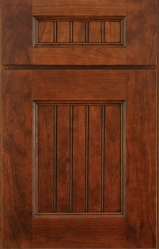 Rochelle Beaded Panel Available in Cherry, Hickory, Knotty Alder, Maple, Rustic Maple, and Oak