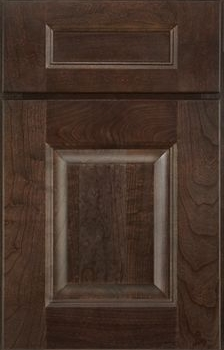 Rochelle Raised Panel Available in Cherry, Hickory, Knotty Alder, Maple, Rustic Maple, and Oak