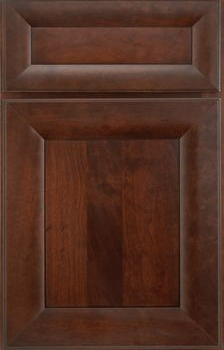 Roma Flat Panel Available in Cherry, Knotty Alder, and Maple