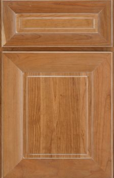 Roma Raised Panel Available in Cherry, Knotty Alder, and Maple