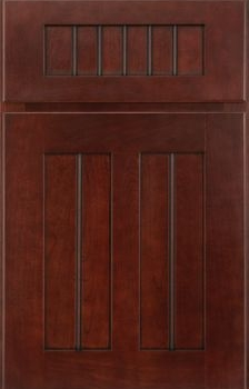 Salinger Beaded Panel Available in Cherry, Hickory, Knotty Alder, Maple, Rustic Maple, Oak, and Quartersawn Oak