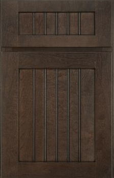 Shaw Beaded Panel Available in Cherry, Hickory, Knotty Alder, Maple, Rustic Maple, and Oak