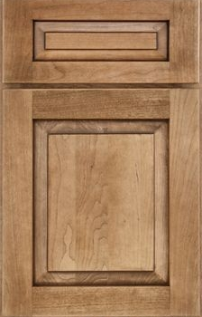 Shaw Raised Panel Available in Cherry, Hickory, Knotty Alder, Maple, Rustic Maple, and Oak