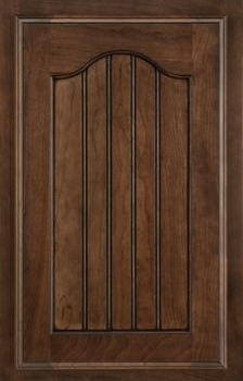 Steinbeck Beaded Panel Available in Cherry, Hickory, Knotty Alder, Maple, Rustic Maple, and Oak