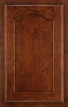 Steinbeck Flat Panel Available in Cherry, Hickory, Knotty Alder, Maple, Rustic Maple, and Oak