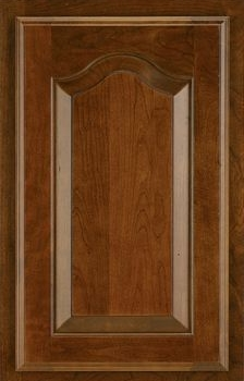 Steinbeck Raised Panel Available in Cherry, Hickory, Knotty Alder, Maple, Rustic Maple, and Oak