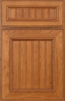 Wallis Beaded Panel Available in Cherry, Knotty Alder, and Maple