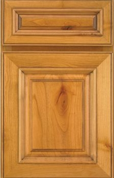 Wallis Raised Panel Available in Cherry, Knotty Alder, and Maple