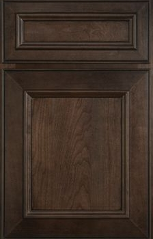 Wallis Reverse Raised Panel Available in Cherry, Knotty Alder, and Maple