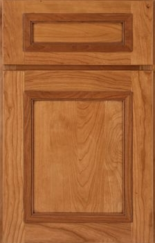 Wells Reverse Raised Panel Available in Cherry, Hickory, Knotty Alder, Maple, Rustic Maple, and Oak