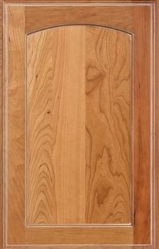 Westcliffe Reverse Raised Panel Available in Cherry, Hickory, Knotty Alder, maple, Rustic Maple, and Oak