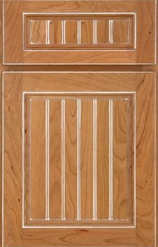 Wheaton Beaded Panel Available in Cherry, Hickory, Knotty Alder, Maple, Rustic Maple, and Oak