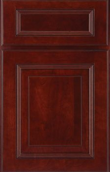 Wheaton Raised Panel Available in Cherry, Hickory, Knotty Alder, Maple, Rustic Maple, and Oak