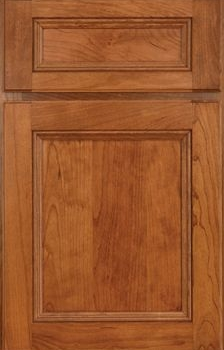 Wheaton Reverse Raised Panel Available in Cherry, Hickory, Knotty Alder, Maple, Rustic Maple, and Oak