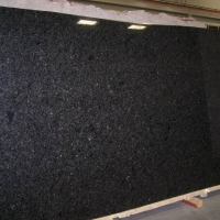 Slab of Black Pearl Granite