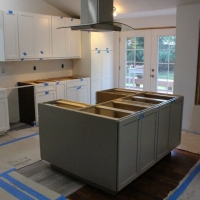 Cabinet installation in Gig Harbor WA