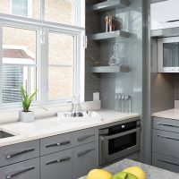 Frost white quartz countertops